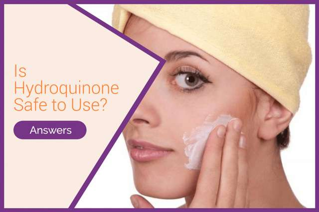 is hydroquinone safe to use